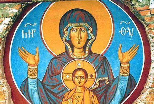 Похвала Пресвятой Богородицы. Икона